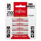 Fujitsu nabíjacie NiMH batérie 2700 R06 / AA, 2700mAh, blister 4ks