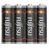 Fujitsu zinková batéria R06/AA, shrink 4ks