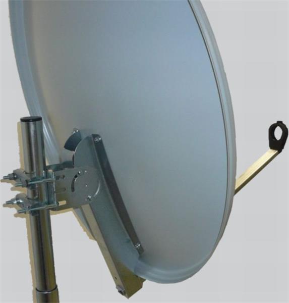 GIBERTINI satelitní parabola prům. 80cm AL white