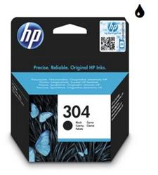 HP atramentová náplň c. 304 - čierna