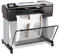 HP DesignJetT830 24-in MFP with new stand Printer (A1+, Ethernet, Wi-Fi)