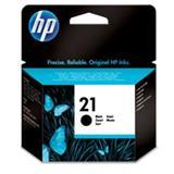 HP No. 21 Black Inkjet Print Cartridge (5 ml)- Blister