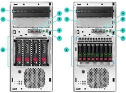 HP ProLiant ML30 G10 E-2134 1P 16GB-U S100i 4LFF 2x1Gb 500W PS Perf Server