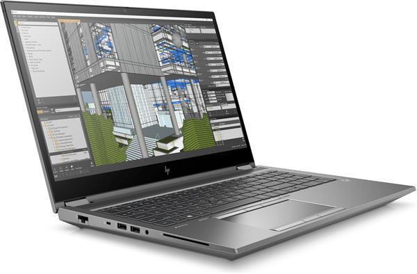 HP Zbook Fury 15 G7, i7-10850H, 15.6 UHD/Touch, T1000/4GB, 16GB, SSD 512GB, W10Pro, 3-3-0
