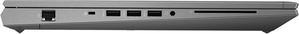 HP ZBook Fury 17 G7, i7-10850H, 17.3 FHD, T1000/4GB, 16GB, SSD 512GB, W10Pro, 3-3-0