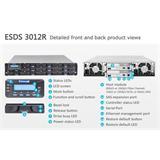 INFORTREND (ESDS 3012RT) 2U, 2x host board sloty, 2x6G SAS exp.,12xHDD bay, Dual Controller, 2x2GB, 2x PWS