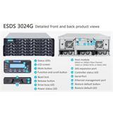 Infortrend(ESDS 3024G), 4U, 1x host board sloty, 1x6G SAS exp.,24xHDD bay, Single Controller, 1x2GB, 3x PWS
