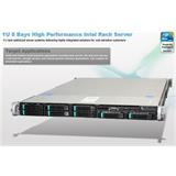 Intel® 1U Server System R1208GL4DS (Grizzly Pass) S2600GZ4 board 1U 8xHS 1x460W
