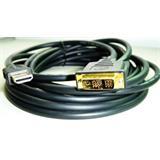 kábel HDMI-DVI 1,8m, M/M tienený, verzia 1.3, pozlátené kontakty, čierny