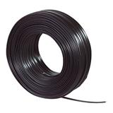 kabel telefónny 4 žilový, plochý, 28AWG, cierny, 100m cievka