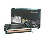 Lexmark C734, C736, X734, X736, X738 Black Return Program Toner Cartridge, 8K