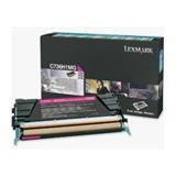 Lexmark C736, X736, X738 Magenta High Yield Return Program Toner Cartridge, 10K