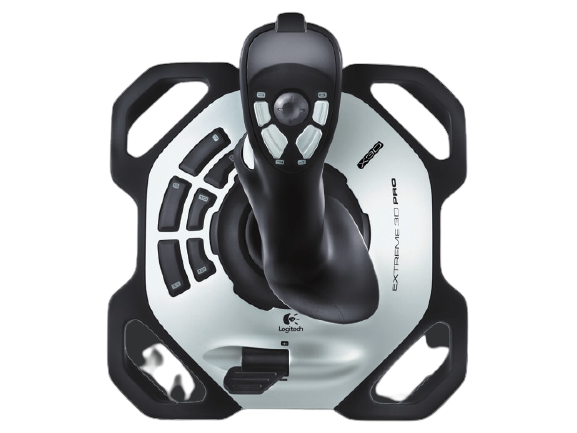Logitech® G Extreme 3D Pro - USB - EMEA