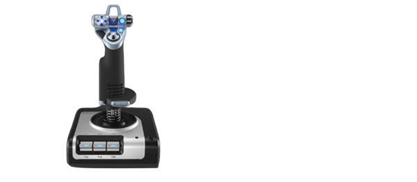 Logitech® G Saitek X52 Flight Control System - N/A - USB - N/A - EMEA - X52 FLIGHT CONTROL SYSTEM