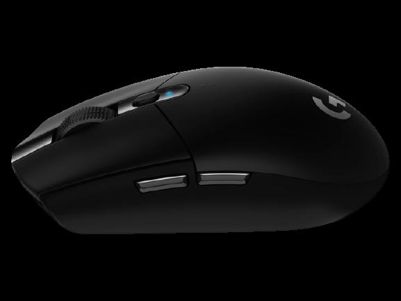 Logitech® G305 LIGHTSPEED Wireless Gaming Mouse - USB - black