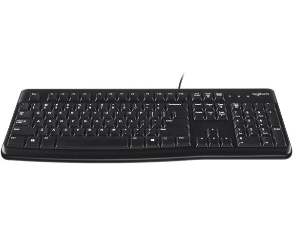 Logitech® K120 for Business OEM keyboard - black - SK/CZ layout - USB - EMEA