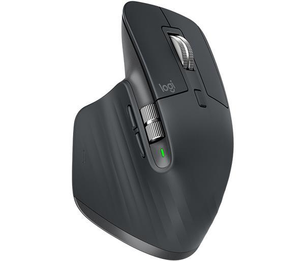 Logitech® MX Master 3 Advanced Wireless Mouse - BLACK - 2.4GHZ/BT