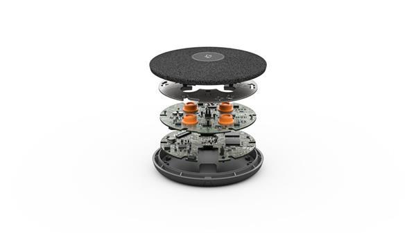 Logitech® Rally Mic Pod stolný mikrofón pre Rally, čierny