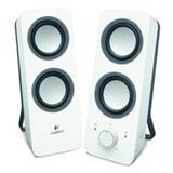 Logitech® Z200 Stereo Speakers - SNOW WHITE - N/A - EU