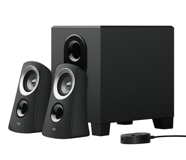 Logitech® Z313 Speaker System - 3.5MM STEREO - reproduktory