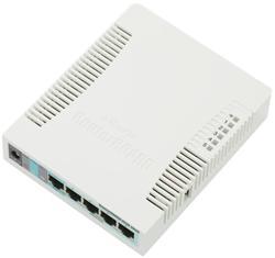 MIKROTIK RouterBOARD 951G-2HnD + L4 (600MHz, 128MB RAM, 5xGLAN switch, 1x 2,4GHz, plastic case, zdroj)