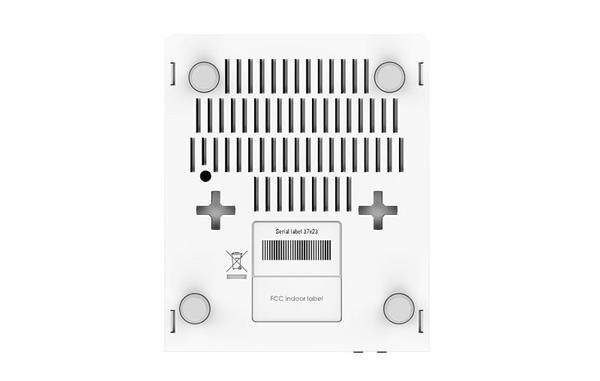 MIKROTIK RouterBOARD hEX PoE + L4 (800MHz; 128MB RAM, 5xGLAN switch, PoE in/out, zdroj)
