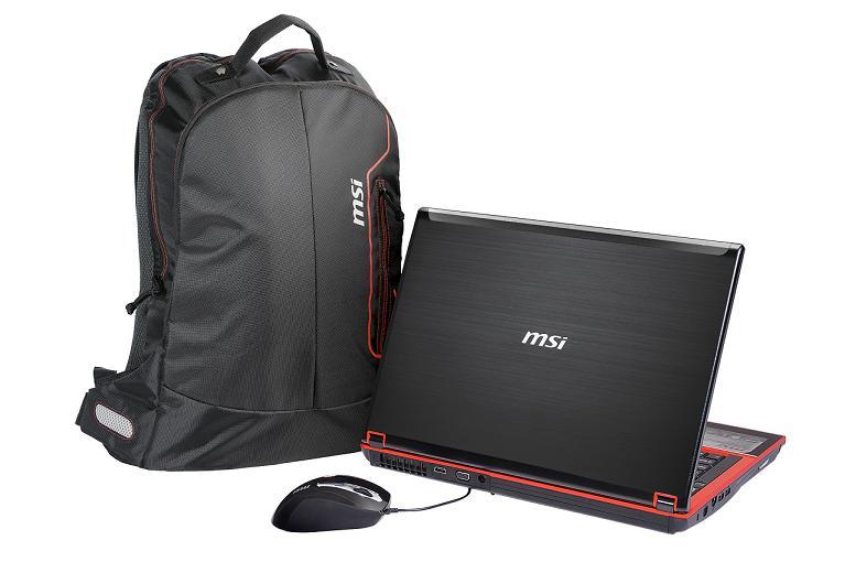 """MSI GX640-094XSK i5 430M (2,26G) 15,4"""" WXGA ATI HD5850 4GB 500GB WL BT Cam freeDOS numklv čierno-červený"""