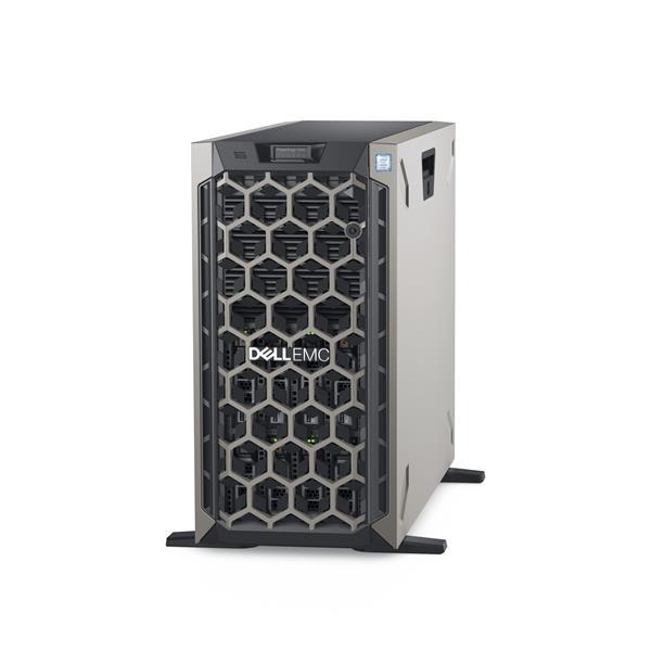 PE T440/ 8 x 3.5 HotPlug/16GB/2x480GB SSD SATA RI,3.5in HYB CARR/Casters/DVD RW/2x 1GbE On-Board LOM/H730P/iDRAC9 ENT