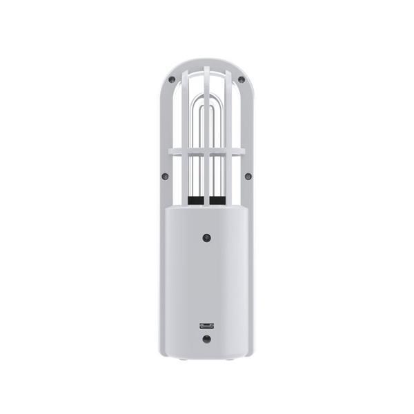 Perenio germicídna lampa UV Mini Indigo, prenosná, UV žiarenie, tvorba ozónu, rádius do 9m2, biela