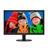 "Philips 243V5LSB5/00 23.6"" LED 1920x1080 10 000 000:1 5ms 250cd DVI cierny"