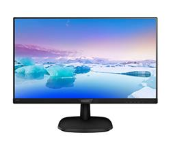 "Philips 243V7QDAB/00 IPS 23.8"" LED 1920x1080 10 000 000:1 5ms 250cd HDMI DVI repro cierny"