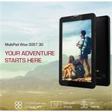 "Prestigio MultiPad Wize 3057 7"" 1024x600 512/4GB 1.3GHz WIFI BT GPS 3G 2500mAh CAM 0.3 Mpx Android 4.4 CIERNY"