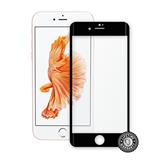 ScreenShield Apple iPhone 7 Tempered Glass protection display (full COVER BLACK metalic frame) - čierny