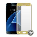 ScreenShield Galaxy G930 Galaxy S7 Tempered Glass protection full cover (gold) - Film for display protection