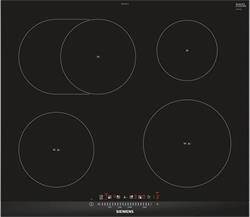 SIEMENS_Varna doska 60cm, fazetovy design, 4x indukcne varne zony s funkciou powerBoost