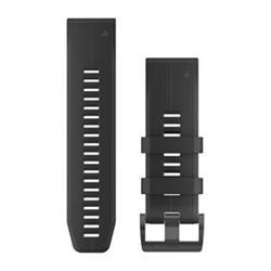 Silikonový remienok QuickFit™ 26 na zápästie fénix 3 / 5X (Plus) / tactix - cierny (ND)