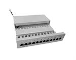 STP OPTIX Patch Panel - box 12port Cat5E na omítku