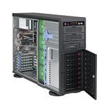 "Supermicro® CSE-745TQ-R800W/ 8 x 3.5"" SAS/SATA Hot-swappable/redundant 1+1 /Tower/4U chassis black"