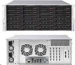"Supermicro®CSE-846BE1C-R1K23B 24x 3,5"" HS SAS/SATA (expander SAS3/12Gb - +2x2,5"" volitelný ,2x1280W (80PLUS"