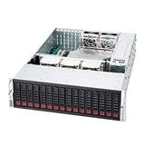 Supermicro® CSE-936E16-R1200B, 3U, Single SAS-II Expander, Redundant PSU 1200W - Black