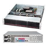 "Supermicro® SC216E1-R900LPB 2U E1chassis 24 x 2,5"" hot-swap SAS/SATA"