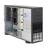 Supermicro® SC748TQ-R1400B Tower/4U chassis 5xSAS/SATA hs 1200W redundant