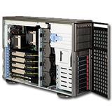 Supermicro Server AS-4021GA-62R+F Tower (rack 4U) 4x GPU 2x Opteron 8xhotswap SAS 2.0 1400W redundant PSU