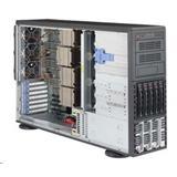 "Supermicro Server SYS-8048B-TR4F 4x LGA2011-3 (Xeon E7-4800 v3/v4,E7-8800 v3/v4), 5x HS 3,5"", 4x PCI-E 3.0, 2x1GbE"