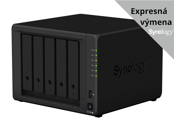 Synology™ DiskStation DS1520+ 5x HDD NAS 8GB RAM