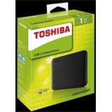 """TOSHIBA CANVIO Ready 2,5"""" Externý HDD 1TB 5400RPM USB 3.0 čierny"""
