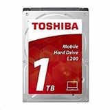 Toshiba HDD Mobile L200, 1TB 5400rpm, 128 MB, SATA 3Gb/s, 2.5""