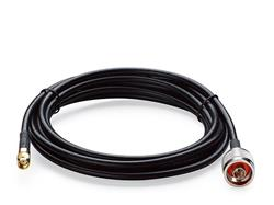 TP-LINK TL-ANT24PT3 Pigtail Cable, 2.4GHz, 3 Meters, N-type Male to RP-SMA Male Connector