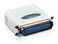 TP-LINK TL-PS110P Single parallel port fast ethernet Print Server, supports E-mail Alert