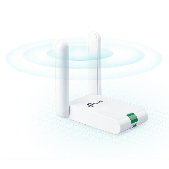 TP-LINK TL-WN822N 300Mbps High Gain Wi-Fi USB Adapter, desktop housing, Mini USB 2.0